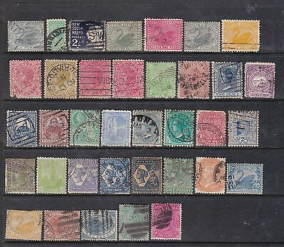 Australian States Collection. Queen Victoria Selection.