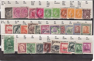 New Zealand Collection.  Early Selection. All Identified. Used. No.2.