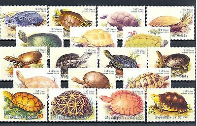 France Colony Rep Guinea  18  St.  ** Mnh  Vf  -Turtle Tortue Tortoise-  @188