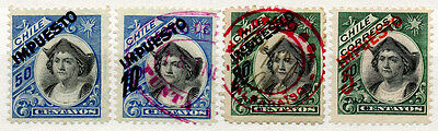 (I.B) Chile Revenue : Impuesto Overprints Collection