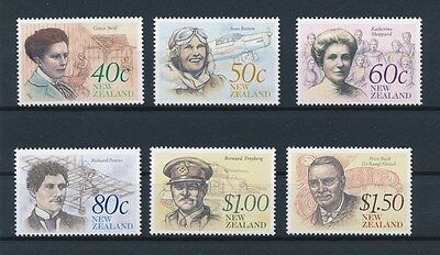[90037] New Zealand good set Very Fine MNH stamps