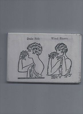 early 1900's advertising pocket mirror comic women risque pic