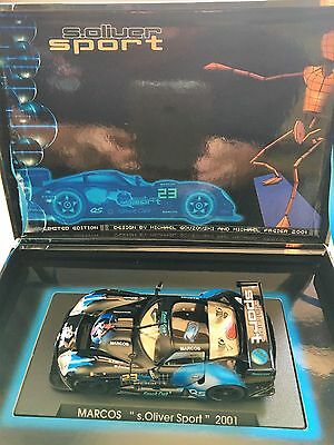 Fly Car Model Marcos S.Oliver Sport 2001 No Reference Limited Edition Unused
