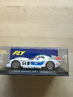 Fly Car Model Panoz Esperante GTR 1 Le Mans 1997 White 54 Reference A61 Unused