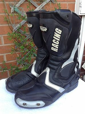 spada motorcycle race boots size uk 8