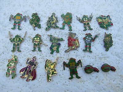 Lot De 18 Pin's Tortue Ninja