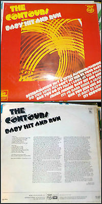 ♫ Northern Soul - THE CONTOURS - BABY HIT AND RUN LP ♫