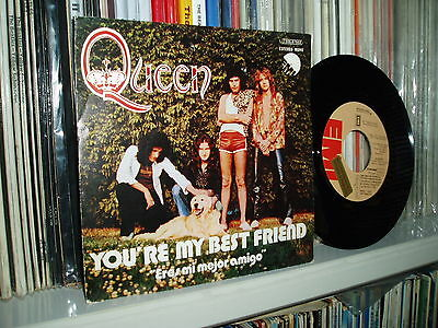 "QUEEN 7"" You´re my Best Friend Hard megarare spanish sleeve Promo  SPAIN"