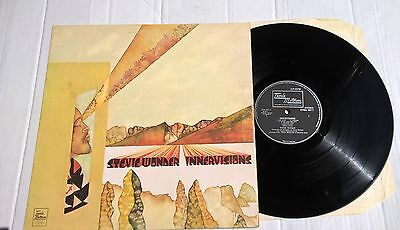 STEVIE WONDER - Innervisions - Nice UK Pressing VINYL LP