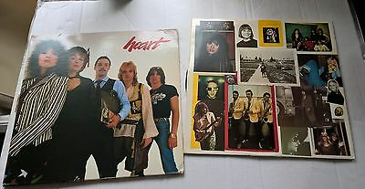 HEART - Greatest Hits / Live - AOR - U.S 1st Press 2 x VINYL LP