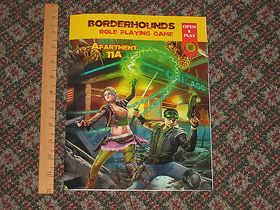 TROLL LORD GAMES - Borderhounds: Apartment 11A - RPG 2017 FREE RPG DAY