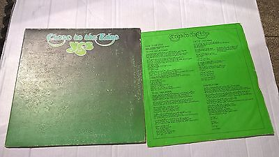 YES -  CLOSE TO THE EDGE - PROG - UK A3 B2  Press with Textured cover Vinyl LP