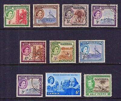 Gambia  Old  Mint  And  Used  Collection     Gambia
