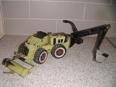 Tonka Canada Trencher Construction Toy Lot 4 of 6: 1970s