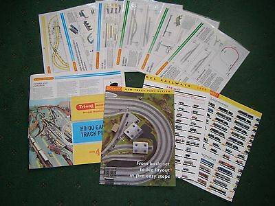 Hornby Tri-ang Plans; Advertising; Track Systems etc: