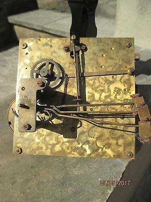 Old Westminster chime movement for spares.