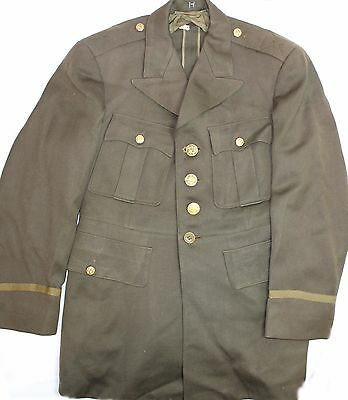 Original US WWII Early War AAF & Army Officer's Tunic