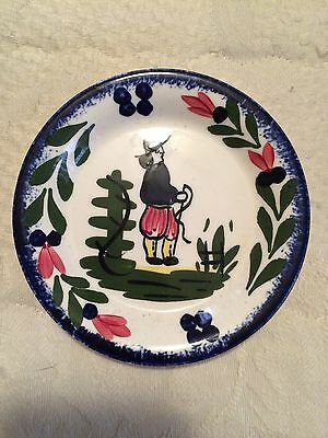 RARE Blue Ridge FRENCH PEASANT Butter Pat Southern Potteries Old Design VHTF