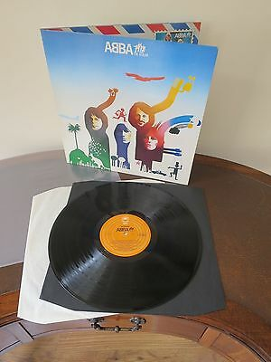 Abba - The Album LP - Near Mint Vintage UK Pressing Vinyl - Worldwide Shipping