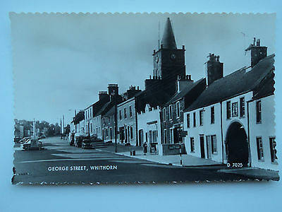Valentine's B&W RP PC George Street, Whithorn. Wigtownshire. Unposted. 1961.
