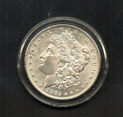 U.s. Morgan 1885 Silver Dollar. Beautiful Coin. Please See Both Scans.