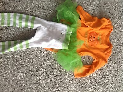 Baby Girls Halloween Outfit, George, 9-12 Months