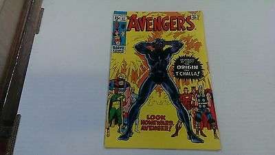 The Avengers 87 - Origin Of Black Panther (1971) Comic Book VF condition