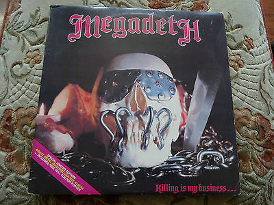 Megadeth Killing Is My Business ,, And Business Is Good Vinyl Lp Mfn 46 Dm