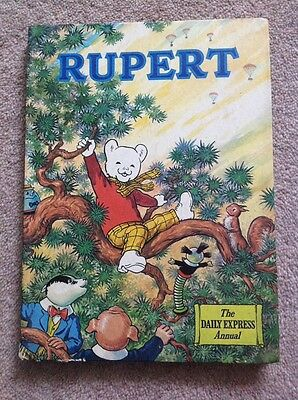 Rupert Daily Express Annual 1973 Excellent Condition