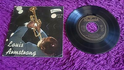 "Louis Armstrong ‎– When You're Smiling , Vinyl, 7"", EP ,1961 ,Spain ,10 711 EPB"