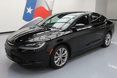 2015 Chrysler 200 Series  2015 CHRYSLER 200 S AUTO LEATHER BLUETOOTH NAV 13K MI #717770 Texas Direct Auto