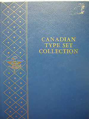 Canadian Coin Type Set in Whitman Album from 1858 - 1965 Canada Almost Complete!