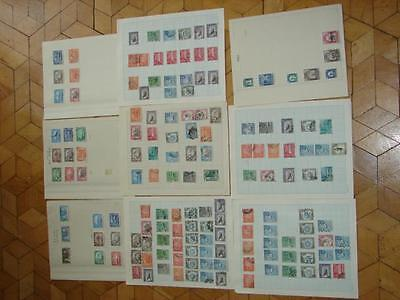 (Q137) Aden  Selection  Old & Modern On 9 Pages Good Selection