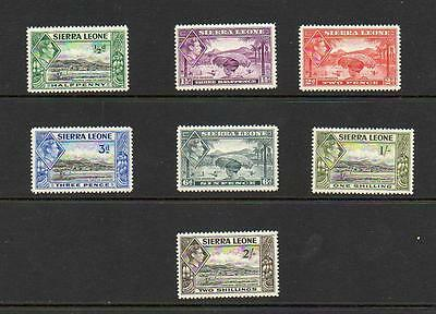 (A644) Sierra Leone  George Vi Mnh Selection  Values To 2/-