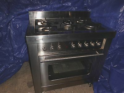 BOSCH stainless steel duel fuel range cooker
