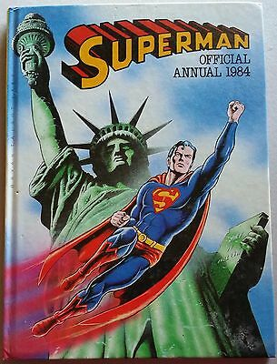 SUPERMAN ANNUAL 1984- very good condition