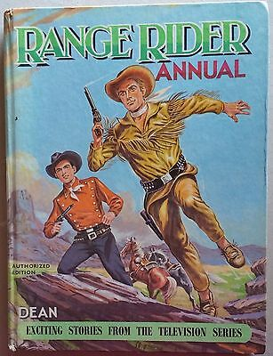 RANGE RIDER ANNUAL 1962- very good condition