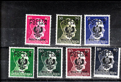 Poland-1939/1944-German Occupation-mnh