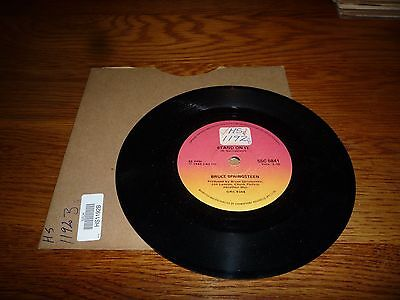 """Bruce Springsteen. Glory Days. Rare South African Press 7"""" Vinyl Record"""