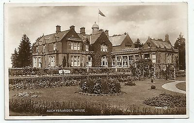 zx scotland scottish postcard auchterarder house
