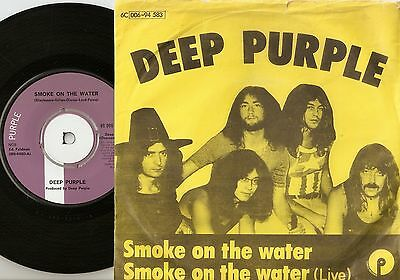 Deep Purple Smoke On The Water Studio & Live Danish 45+Ps 1972 Heavy Psych Rock