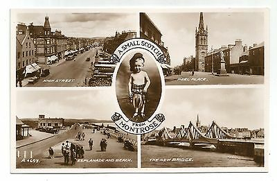zx scotland scottish postcard montrose