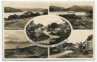 zx scotland scottish postcard whitehouse argyle