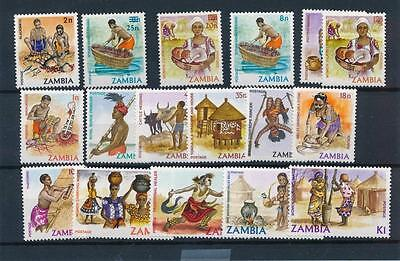 [20935] Zambia Good Lot of Very Fine MNH Stamps