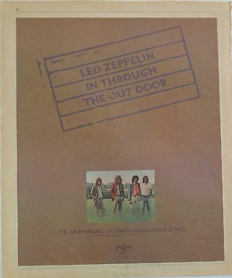"Led Zeppelin ""In Through The Out Door"" full-page US ad 1979 + Bonus"