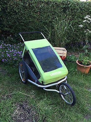 Croozer Kid For 2  Three-in-one Bike Trailer / Jogger / Stroller