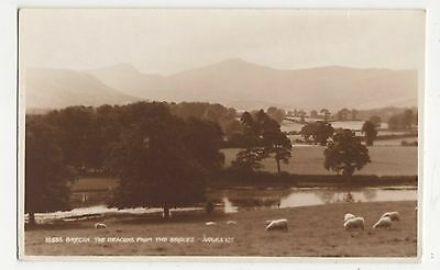 Brecon, The Beacons from Two Bridges, Judges 10636 Postcard, A889