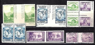 #752-770A Mint Selection Special Printing-Fine-Vf