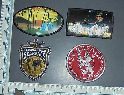 Lot Of Scarface Embroidered Iron On Patches Al Pacino