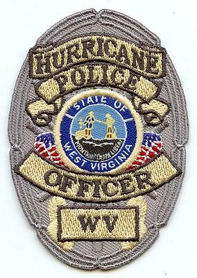 """Hurricane West Virginia Police Department 3"""" Patch Law Enforcement Officer LEO"""